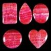 C226 Argentine Rhodochrosite Cabochon CAB semi-precious gemstone