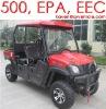 NEW 4 seater 500cc UTV ,Cab Enclosure, EPA/EEC, SIDE BY SIDE