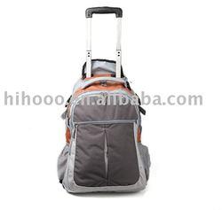 600D trolley laptop backpack