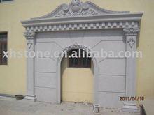 garden stone archway