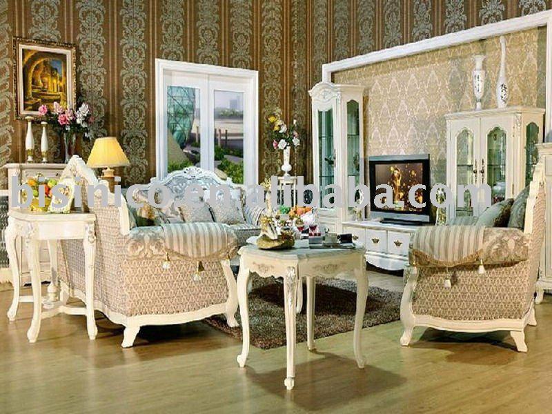 Antique European Style Living Room Furniture Set Bedroom Furniture Set Dini