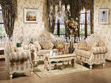 Antique european style living room furniture set. bedroom furniture set. dining room furniture set.study. Item B47127