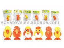 plastic wind up bird toys