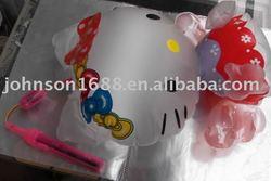animal print lantern