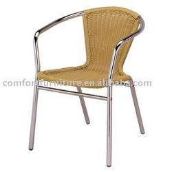 Outdoor Stack Aluminum Rattan Chair