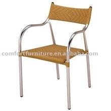 Outdoor Stack Aluminum Wicker Chair