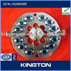 LC housing optical fiber polish jig