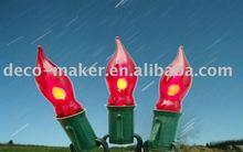 E12 Flame bulb lamp light string Christmas lights