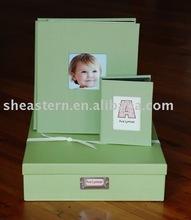 pop green photo album box
