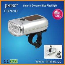 LED Solar Dynamo Flashlight Bike light bicycle lamp-FD701S