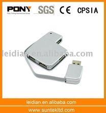 2011 Latest Design High Speed USB2.0 HUB 4 port