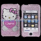 Diamond hard Rhinestone Bling Cover Case for TOUCH2/TOUCH3