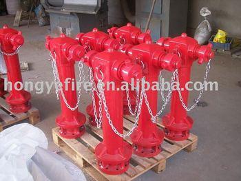 "4"" wet pillar hydrant"