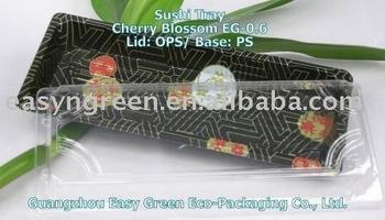 Cherry Blossom Disposable Plastic Food Tray EG-0.6