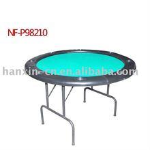 round folding poker table