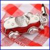 moda encanto colgante de plata colgante de joyería de esmalte coche encanto joyas