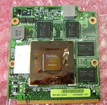 Laptop vga card For ASUS Z99D F8D F8S A8S X81S Z99S X1600 HD3650 9500 video card
