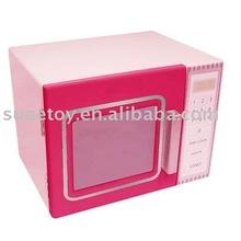 Wooden Kitchen Toy,Wooden Microwave Oven,Pretend Kitchen toy for kids
