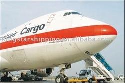 Air freight fromShenzhen/Guangzhou/Hongkong to Tyler, TX, USA (TYR)
