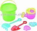 مجموعة من البلاستيك رمل الشاطئ لعبة