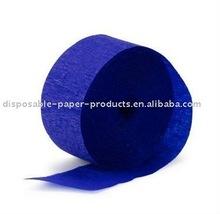 Sapphire Blue Crepe Paper