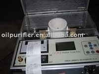 Transformer / Insulating oil tester,cable oil testing equipment