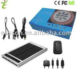 2600mAh solar mobile charger bag