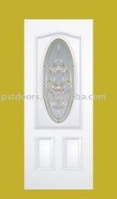 steel glass door small oval