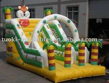 inflatable slide,inflatable tiger bounce slide , inflatable jumping slide