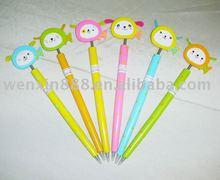 2D fancy custom design wooden craft ballpoint pen (HAB118)