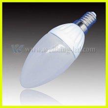 2012 NEW led bulb light candle flame