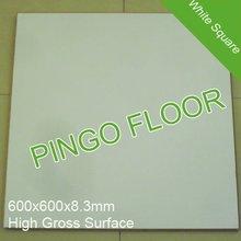 white square 8mm ac3 plancher stratifié