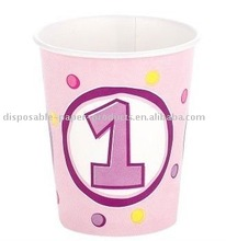 Cupcake 1st Birthday 9 oz. Cups, 9 oz, pack of 8