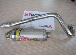 pit bike parts, T4 exhaust system