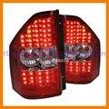 /rojo blanco/ahumado negro led luz de la cola de la lámpara de la cola para mitsubishi montero pajero 2000-2009 v73 6g72 v75 6g74 v77 6g75 v78 4m41