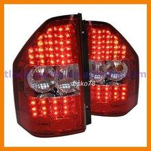 Red White Smoked Black LED Tail Light Tail Lamp for Mitsubishi Pajero Montero 2000-2009 V73 6G72 V75 6G74 V77 6G75 V78 4M41