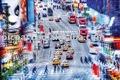 Parede moderna pintados à mão pintura arte ( streetscape )
