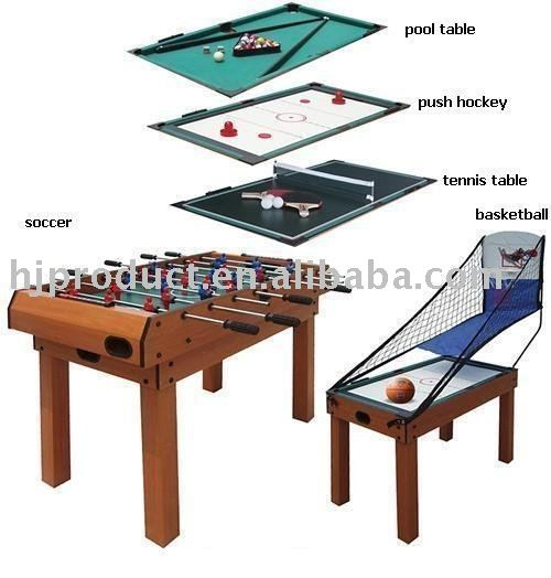 5 in 1 multi function indoor games table view multi game table for kids hj - Table multi jeux 5 en 1 ...