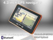 Hand Held GPS, Palm GPS, Hand Held 4.3 Inch GPS