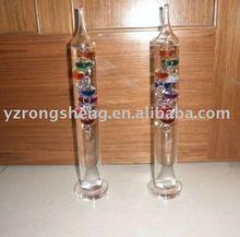 glass love galileo thermometer
