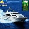 Marine outboard motor oil additive