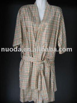hotel sauna suit/men bathing suits/100%cotton sauna suits