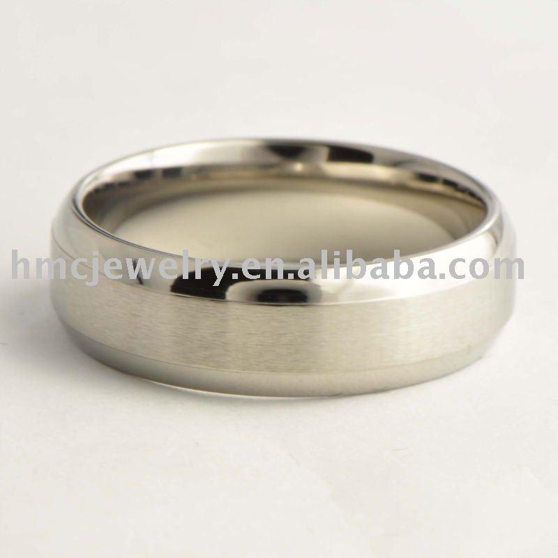 High End High Quality Titanium Wedding Ring Buy Titanium Ring 316l Stainles