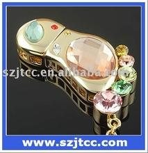 Foot Diamond Flash Drive 8GB, Foot Shaped USB Flash Memory, Jewelry USB Key