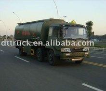 Chemical liquid tank transport truck