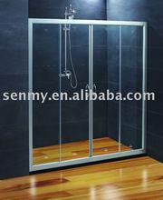 sliding glass shower screen