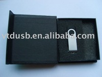 nice usb flash drive with gift box packing, black box gift packing usb flash drives, usb with gift box packing