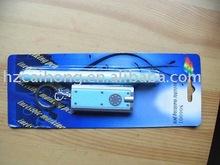eco-friendly pen,permanent uv marker with LED keychain led light