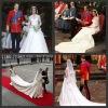 Free shipping Royal Britain England Prince William and Kate's Wedding bridesmaid bridal dress wedding gown wedding dress