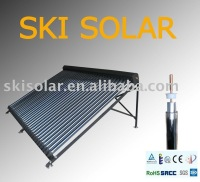 vacuum tube solar water heater: solar collector(heat pipe & CE Approval)
